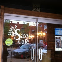 Photo taken at Saxy's Cafe by Felice L. on 5/12/2011