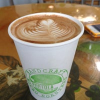 Photo taken at Portola Coffee Roasters by Cristyn N. on 6/7/2012