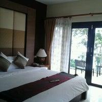 Photo taken at Secret Cliff Resort And Restaurant Phuket by EongShing on 12/7/2011