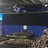 Photo taken at Chaifetz Arena by Alexandra H. on 5/19/2012