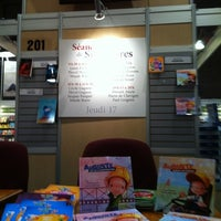 Photo taken at Salon du livre de Montréal by Pascal H. on 11/17/2011