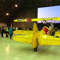 Photo taken at Barker Hangar by princeofwine on 1/23/2011
