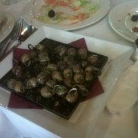 Photo taken at Sant Bernat Restaurant by Jon A. on 8/3/2012