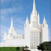 Photo taken at San Diego California Temple by Wade W. on 7/6/2012