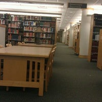Photo taken at Kathryn A. Martin Library by Christopher P. on 10/1/2011