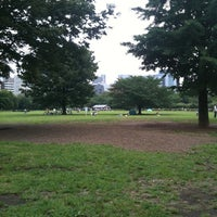 Photo taken at Kiba Park by Ryo I. on 6/12/2011