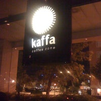 Photo taken at Kaffa Coffee Zone by João C. on 7/31/2012