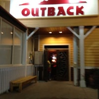 Photo taken at Outback Steakhouse by Cristian H. on 2/28/2012