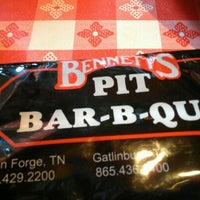 Photo taken at Bennett's Pit Bar-B-Que by Jessica E. on 8/18/2012