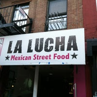 Photo taken at La Lucha - Tacos & Boutique by Topmics T. on 7/2/2012