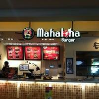 Photo taken at Mahaloha Burger by @lenahanson💋 B. on 9/5/2012