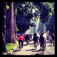 Photo taken at Jalan Ir. H. Djuanda by Erfira S. on 6/3/2012