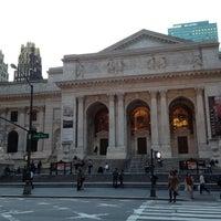 Photo taken at New York Public Library - Stephen A. Schwarzman Building Celeste Bartos Forum by Kevin E. on 3/19/2012