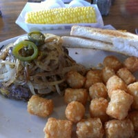 Photo taken at Longhorn Cafe by Buck B. on 9/3/2012