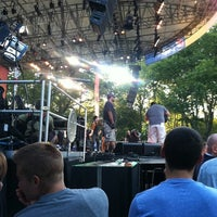 Photo taken at Central Park SummerStage by Stephanie H. on 8/31/2012