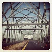 Photo taken at Castleton-on-Hudson Bridge by Rachel S. on 8/13/2012