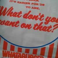 Photo taken at Whataburger by 13 B. on 2/16/2012