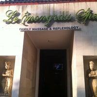 Photo taken at Le'mongrass Spa by Masayu U. on 6/29/2012