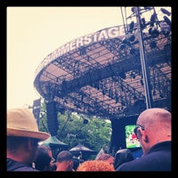 Photo taken at Central Park SummerStage by Skye G. on 6/25/2012
