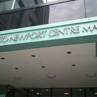Photo taken at Newport Centre by John P. on 7/27/2012