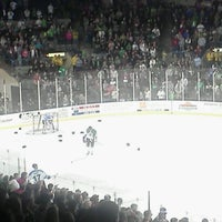Photo taken at Rushmore Plaza Civic Center Ice Arena by Brianne T. on 3/18/2012