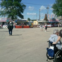 Photo taken at Dodge County Fairgrounds by Dale N. on 8/16/2012