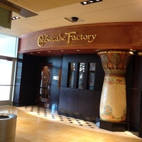 Photo taken at The Cheesecake Factory by Osagie O. on 7/6/2012