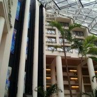 Photo taken at Orlando World Center Marriott by Jennifer F. on 6/6/2012