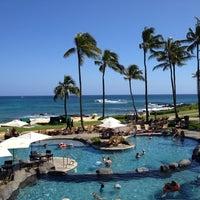 Photo taken at Sheraton Kauai Resort by Jennifer L. on 5/19/2012