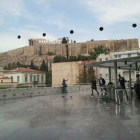 Photo taken at Cafe & Restaurant at Acropolis Museum by Karine S. on 4/24/2012
