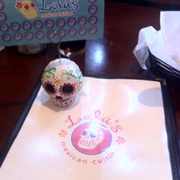 Photo taken at Lola's Mexican Cuisine by Wuan B. on 7/13/2012