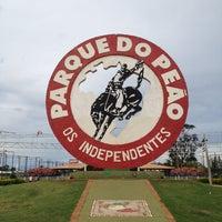 Photo taken at Parque do Peão by Gabriela B. on 4/7/2012