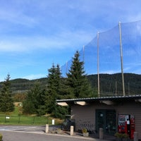 Photo taken at Westwood Plateau Golf Academy by Adam B. on 10/14/2011