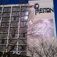 Photo taken at Hotel Preston by Ramone B. on 11/26/2011