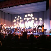 Photo taken at Stoughton High School Auditorium by Madison Area City Guide on 12/2/2011