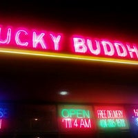 Photo taken at Lucky Buddha Chinese Thai And Sushi by Pink Sugar Atlanta N. on 5/21/2012