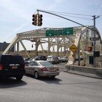 Photo taken at Macombs Dam Bridge by Anne B. on 4/14/2012