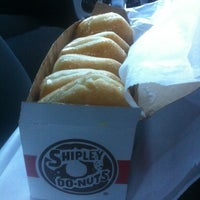 Photo taken at Shipley's Donuts by Ron B. on 5/12/2012