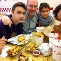 Photo taken at Five Guys by JJ K. on 5/9/2012