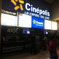 Photo taken at Cinépolis by Luis on 7/20/2012