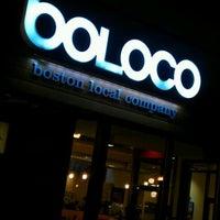 Photo taken at Boloco by Jeffrey J K. on 3/13/2012