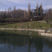 Photo taken at Parco Lago Nord by Marco D. on 1/23/2011