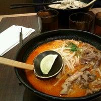 Photo taken at Ajisen Ramen 味千ラーメン by Pauline K. on 2/19/2012