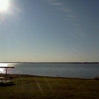 Photo taken at Cedar Hill State Park by Bahiyyudin A. on 10/29/2011