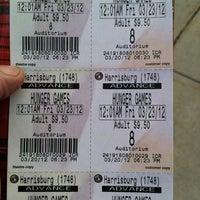 Photo taken at Regal Cinemas Harrisburg 14 by Elizabeth M. on 3/20/2012
