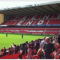 Photo taken at The City Ground by Iván F. on 7/23/2012