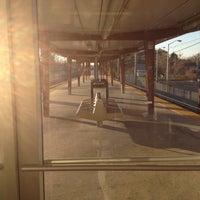 Photo taken at PATCO: Ashland Station by Jeff K. on 12/17/2011