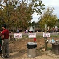Photo taken at Petting Farm by Estelle D. on 10/9/2011