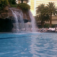 Photo taken at The Mirage Pool & Cabanas by CHLOE on 9/30/2011