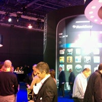 Photo taken at BlackBerry #CES Booth 30326 by Luciano L. on 1/10/2012